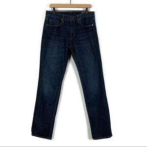 Bonobos Straight Fit Tolkan Wash Jeans Size 33/34